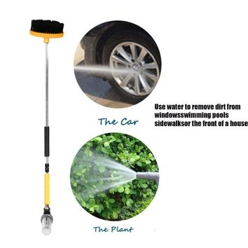 Car Cleaner and Washing High-pressure Water Gun Professional Brush Portable Car Washer Effort-saving Water Zoom easy and quick