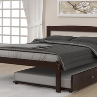 Henry Full Bed Frame with Trundle