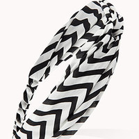 Knotted Chevron Headwrap