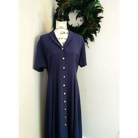 Women's Vintage 1980's Leslie Fay Dress