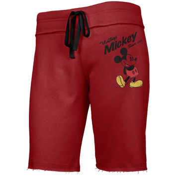Mickey Mouse - Vintage Mickey Since 1928 Juniors Drawstring Shorts