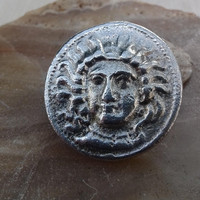 acient coin CILICIA. Tarsus sterling silver 925 ancients coin replica