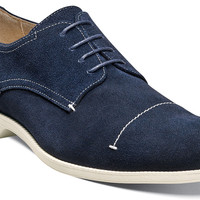 Wilcox Cap Toe Stitch Oxford by Stacy Adams