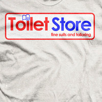 Anchorman: The Legend of Ron Burgundy - Brick Tamland Toilet Store T-shirt