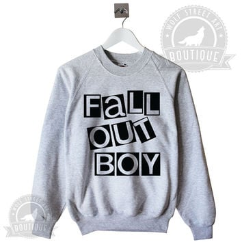 Fall Out Boy Jumper Sweater - Pinterest Tumblr Instagram Blogger - Unisex S-XXL Unisex Christmas Trending