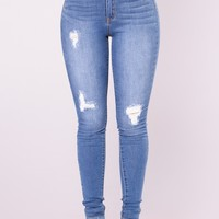 Bradshaw Skinny Jeans - Medium Blue