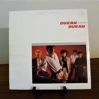 Vintage 1981 Duran Duran Self TItled Vinyl LP Record Album Released by EMI Records / Electronic New Wave Pop Music / Excellent Condition