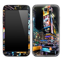 New York City Times Square 2 Skin for the Samsung Galaxy Note 1 or 2