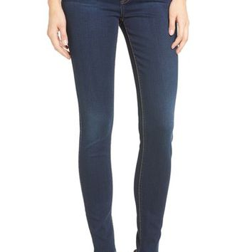 7 For All Mankind® (b)air Skinny Jeans (Bair Tranquil Blue) | Nordstrom