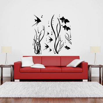 Ocean Sea Life Vinyl Wall Decal Sticker Graphic