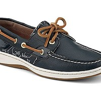 Bluefish Critter Print 2-Eye Boat Shoe