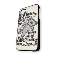 Big Bang Theory Soft Kitty white iPhone 5C Case