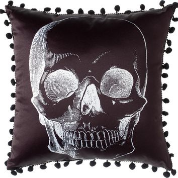 Skull [Black] | PILLOW