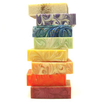 Soap Variety Pack Choose 3 Handmade Soaps by KBShimmer on Etsy