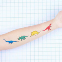 Tattoo Stickers: Dinosaurs (4 patterns)
