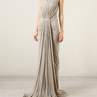 Rick Owens Lilies | Long Ruched Pleated Dress