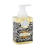 LIQUID SOAP, HONEY ALMOND FOAMING HAND SOAP, MICHEL DESIGN WORKS