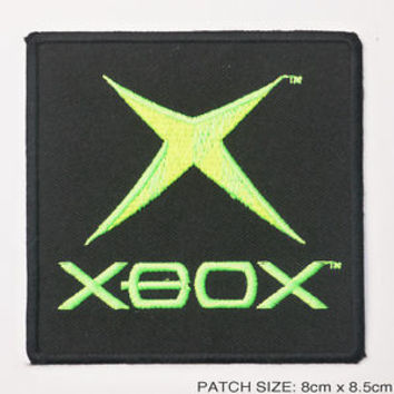 XBOX 360 / One Video Game Logo Embroidered Iron-On Patch!