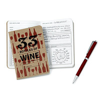WINE TASTING NOTEBOOK AND PEN SET
