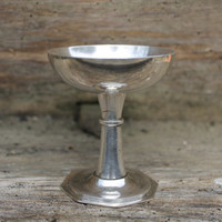 Vintage Silverplate goblet, silverplate cup, silver chalice, ritual cup, pagan altar kit, pocket altar set, wiccan altar decor, handfasting