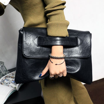 New Fashion women's envelope clutch bag High quality Crossbody Bags for women trend handbag messenger bag large Ladies Clutches