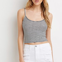 Micro-Stripe Ribbed Cami