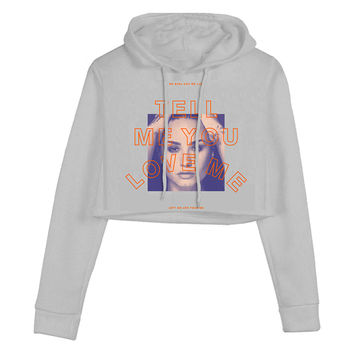 Demi Lovato Official Store | TMYLM Crop Hoodie