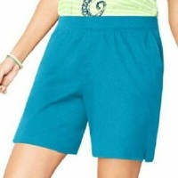 JMS Plus Size 4X Shorts New Blue