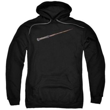 Harry Potter Harry's Wand Licensed Adult Hoodie