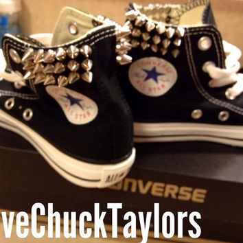 Custom Spiked Converse Chuck Taylor All Stars