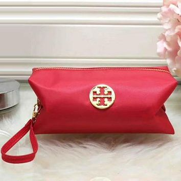 Perfect Tory Burch Women Fashion Leather Zipper Wallet Purse