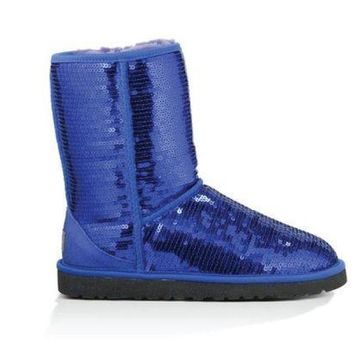 PEAP UGG Classic Short Sparkles Boot