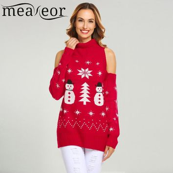 Meaneor Women Christmas Sweaters