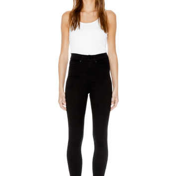 Monki | Trousers | Oki black deluxe