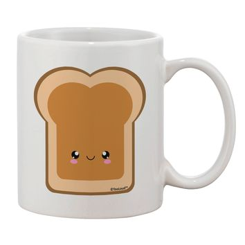 Cute Matching Design - PB and J - Peanut Butter Printed 11oz Coffee Mug by TooLoud