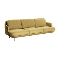Fritz Hansen Lune Sofa Three-Seat
