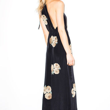 Dharma Onyx Gown | Stone Cold Fox