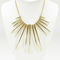 Congo Collar Necklace Set In Gold
