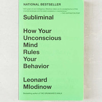 Subliminal By Leonard Mlodinow | Urban Outfitters
