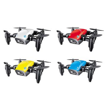 MINI DRONE WITH CAMERA S9 NO CAMERA RC HELICOPTER FOLDABLE DRONES ALTITUDE HOLD RC QUADCOPTER
