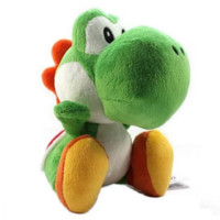Super Mario Yoshi Green Plush Doll Toy