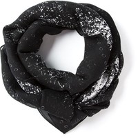 Mcq By Alexander Mcqueen Abstract Print Scarf