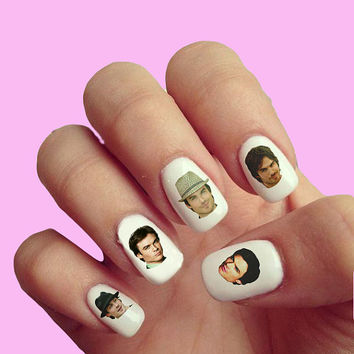 Ian Somerhalder  - Nail Art - Nail Decals