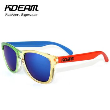 Top Rated Frog UV400 Sunglasses Men Design 9013 Style Fashion Sun Glasses Women Logo oculos de sol All Fit Size Shades KD555