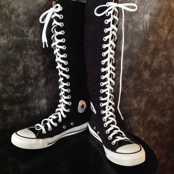 Converse high-top sneakers / black converse sneaker