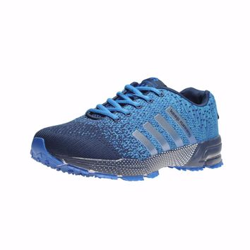 Outdoor Sports shoes Hot sale Breathable Male Light Weight Shoes Sneakers for man Adult Athletic trainer running Shoes