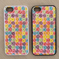 Cool Hipster Fruit Loops iPhone Case, iPhone 5 Case, iPhone 4S Case, iPhone 4 Case - SKU: 219