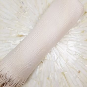 Ivory Bridesmaid Pashmina Shawl