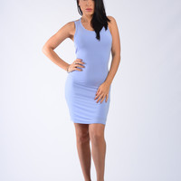 Stella Dress – Blue