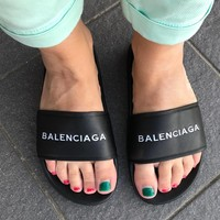Balenciaga Fashion Slippers